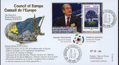 """CE63-III : 2012 - FDC Conseil Europe """"Visite de M. BERISHA"""