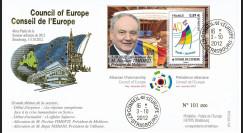 "CE63-IVA : 2012 - FDC Conseil Europe ""Visite de M. TIMOFTI"