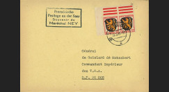 NEY46-2E : 1946 - France FDC Souvenir Mal NEY en Zone d'Occupation franç. en Allemagne
