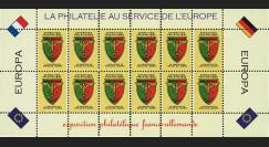 FRAL-12FD : 1969 - Feuillet EUROPA - Expo philatélique FFA / La philatélie sans frontières
