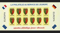 FRAL-12FND : 1969 - Feuillet EUROPA - Expo philatélique FFA / La philatélie sans frontières