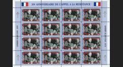 FRAL-14FD : 1970 - Feuillet DE GAULLE - 30e anniversaire de l'Appel à la Résistance 1940