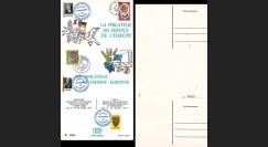 FRAL-5 : 1965 - Triptyque Baden Baden EUROPA Exposition FFA / de Gaulle et Erhard