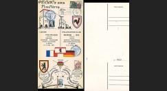 FRAL-12 : 1969 - Triptyque Berlin - 3e Exposition philatélique FFA / de Gaulle et Kiesinger