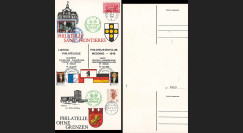 FRAL-14 : 1970 - Triptyque Berlin - DE GAULLE 30 ans Appel 18 juin / Pompidou et Brandt