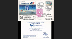 COAF82-3-15 : 1982 - FFC voyagé Vol Concorde Air France Paris CDG 25 ans Traité de Rome