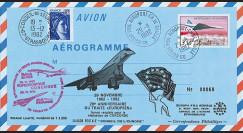 COAF82-11-29 : 1982 - Pli 20 ans Traité franco-anglais pour le développement du Concorde