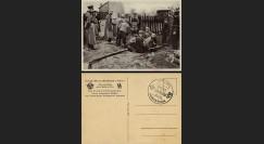 """W2-AL0189 : 1940 - CP """"Secours d'Hiver de Guerre - Police SS sur le Front de l'Est"""""""