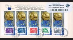 PE624a : 2012 - FDC RECO Parlement européen - Prix Nobel de la Paix décerné à l'UE