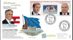 """PE627 : 2012 - FDC Parlement européen """"Présidence irlandaise de l'UE"""
