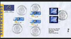 CE56-PJa : 2005 - 1er Jour des TP de service Conseil de l'Europe - RECO
