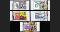 MALI13-PT1/5 : 2013 porte-timbres Marianne OPÉRATION SERVAL MALI, Rafale, Mirage