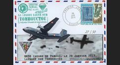 """MALI13-13 : 2013 - FDC MALI """"Opération SERVAL / TRANSALL C-160 - TOMBOUCTOU"""""""