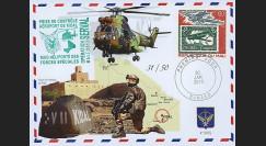 "MALI13-15 : 2013 - FDC MALI ""Opération SERVAL / Hélicoptère PUMA - Libération KIDAL"""