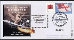 CO-RET V20 type1 : 2005 - 5e anniversaire du Crash du Concorde F.BTSC