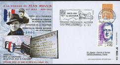 DG 03M2 type1 1943-2003 -  60e anniversaire de la mort de Jean Moulin