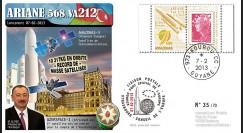 VA212L-T1 : 2012 - FDC Kourou ARIANE 5 Vol 212 - Amazonas-3 / Azerspace-1 (Azerbaïdjan)