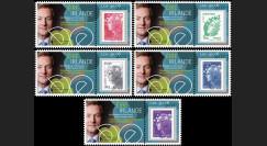 """PE636-PT1-5 : 2011 - 5 porte-timbre Parlement européen """" Présidence irlandaise de l'UE """""""