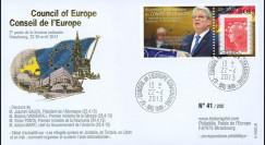 "CE64-IIA : 2013 - FFDC Conseil de l'Europe ""Visite M. Joachim GAUCK"