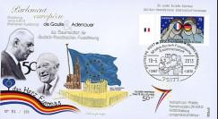 """PE638T2 : 2013 - FDC ALLEMAGNE """"Expo DE GAULLE & ADENAUER - 50 ans Traité Elysée"""""""