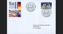 """PE638V2 : 2013 - FDC VARIETE """"Exposition DE GAULLE & ADENAUER - 50 ans Traité Elysée"""""""