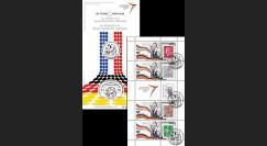"""PE645C : 2013 - Carnet porte-timbres """"Exposition de Gaulle / Adenauer - Traité de l'Elysée"""""""