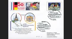 PE648T1 : 2013 - Allemagne EP '50 ans Office franco-alld pour la Jeunesse à Paris et Berlin'