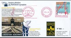 PE494-BR69 : 2005 - 60 ans de la libération du camp d'Auschwitz