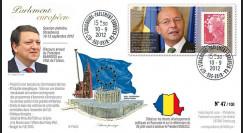 """PE623T2 : 2012 - FDC Parlement européen """"Référendum Destitution BASESCU"""