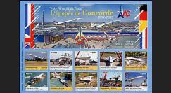 CO-E3ND : 2005 - Feuillet L'épopée de Concorde