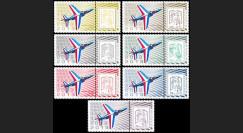"""PAF13-ALPHA : 2013 Porte-timbres """"Patrouille France - Alphajet"""" / Marianne et la Jeunesse"""
