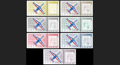 "PAF13-FOUGA : 2013 Porte-timbres ""Patrouille France - Fouga Magister"" / Marianne et la Jeunesse"
