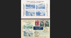 "AV-0153 : 1936 - CP ""Meeting Aviation Aéro-Club Atlantique : La Baule-Paris-Lyon-Cannes"""