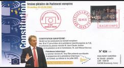 PE503-BR73 : 2005 - Constitution européenne et présidence de l'UE