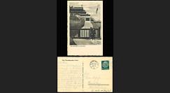"""W2-AL0854 : 1934 - CP ALLEMAGNE """"Garde SS devant la maison 'Wachenfeld' de Hitler"""""""