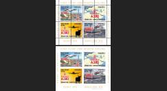 "A380-207B : 2013 - Série de 2 blocs ""1er vol A380 Emirates EK785 Dubaï - Barcelone"""