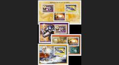 JV-05GN : 2005 - 4 Blocs centenaire de la mort de Jules Verne 1828-1905