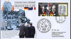 """ORAD13-1 : FDC France  """"Oradour"""