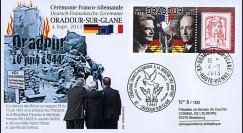 """ORAD13-2 : FDC France  """"Oradour"""