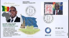 "PE651 : 10-2013 - FDC Parlement européen ""Visite M. Macky SALL"
