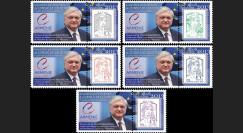 "CE64-IIIAPT1/5 : 06-2013 - Série 5 Marianne ""Présidence de l'Arménie - NALBANDIAN"""