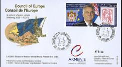 """CE64-IVB : 10-2013 - FDC Conseil Europe """"Visite Tomislav NIKOLIC"""
