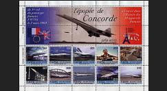 CO-E1 : 2005 - Feuillet L'épopée de Concorde