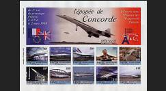 CO-E1ND : 2005 - Feuillet L'épopée de Concorde