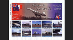 CO-E2ND : 2005 Feuillet L'épopée Concorde