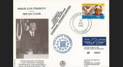 "PE214B : 1990 - FDC MAURITANIE ""Premier Jour Nelson MANDELA"