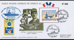 PADG03T2 : 2003 - 1er Jour TP Porte-avions de Gaulle - Brest Armées