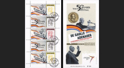 "DG13-9C : 2013 - Carnet privé ""DE GAULLE & ADENAUER"