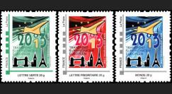 """CO-RET49/51N : 2013 - Série de 3 TPP """"10 ans dernier vol avion Concorde / Tour Eiffel"""""""