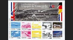 CO-E3E : 2005 - Feuillet L'épopée de Concorde